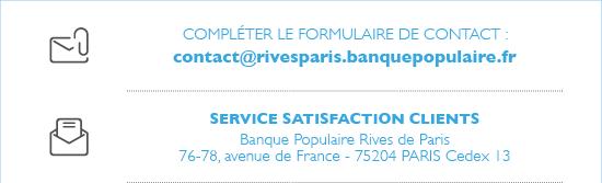 Exprimer Une Reclamation Banque Populaire Rives De Paris